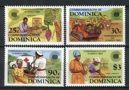 Dominica 1983. Yvert 763-66 ** MNH. - Dominica (1978-...)