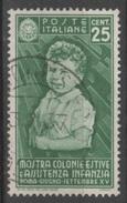 1937 Colonie Per L'infanzia  P.o. Valore Singolo  US - Usati