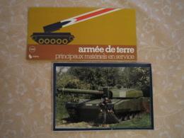 Plaquette De Présentation Des Matériels Militaires Français (1980) - Véhicules