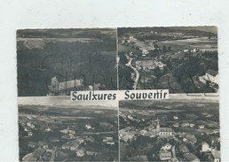 Saulxures (Bas-Rhin) : 4 Vues Générales Aériennes Dont Le Quartier De L'usine  En 1958  GF. - Autres Communes