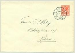Nederland - 1929 - 7,5 Cent Veth,  Envelop G22 Van Oss Naar Rotterdam - Material Postal