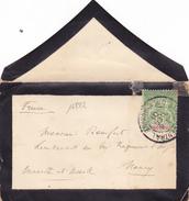 16822# INDOCHINE GROUPE SEUL LETTRE TARIF IMPRIME Obl SAÏGON CENTRAL 1901 Pour NANCY MEURTHE ET MOSELLE - Indochina (1889-1945)