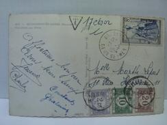 Timbres Taxes Belges Sur Carte Postée De France ....... Lot 663 . - Postage Due