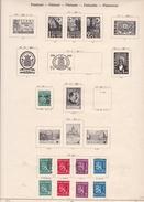 Finlande - Collection Vendue Page Par Page - Timbres Oblitérés / Neufs *(avec Charnière) -Qualité B/TB - Collections