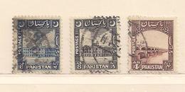 PAKISTAN  ( D17 - 8377 )  1948  N° YVERT ET TELLIER  N° 33/35 - Pakistan