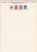 Grande Bretagne - Collection Vendue Page Par Page - Timbres Oblitérés / Neufs *(avec Charnière) -Qualité B/TB - Collections