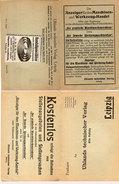 KOSTENLOS - Der Anzeiger Für Den Maschinen Und Werkzeug-Handel - 2 Volets    (94170) - Publicité