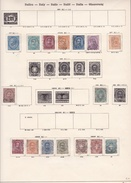 Italie - Collection Vendue Page Par Page - Timbres Oblitérés / Neufs *(avec Charnière) -Qualité B/TB - Lotti E Collezioni