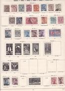 Italie - Collection Vendue Page Par Page - Timbres Oblitérés / Neufs *(avec Charnière) -Qualité B/TB - Collections
