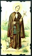 SANTINO - S. Margherita Da Cortona - Santino Antico - Anno 1902 Con Preghiera, Come Da Scansione - Imágenes Religiosas