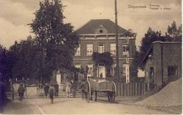 Diepenbeek Overweg (aan Treinspoor) Paard Met Kar - Diepenbeek