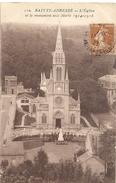 110. SAINTE-ADRESSE - L'EGLISE ET LE MONUMENT AUX MORTS 1914-1918 . AFFR SUR RECTO LE 13-8-1928 - Sainte Adresse