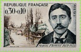 France 1966. ~ YT 1472** - Marcel Proust, écrivain - Neufs