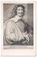 Portrait D'Adriaen BROUWER (1605-1638) Par Van Dyck - Peintre Néerlandais - Altre Celebrità