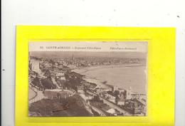 58. SAINTE-ADRESSE - BOULEVARD FELIX FAURE . TRES JOLI DOUBLE-AFFR AU VERSO DU 29 AOUT 1925 . 2 SCANES - Sainte Adresse