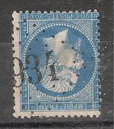 Empire N° 22 Obl GC 934 De CHATEAUNEUF DE GADAGNE , Vaucluse, INDICE 9 , TB - 1862 Napoleon III