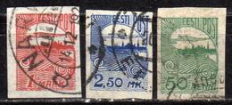 ESTLAND 1920 - MiNr: 27-28 +31 Komplett  Used - Estland