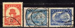 ESTLAND 1932 - MiNr: 94+95+97   Used - Estland