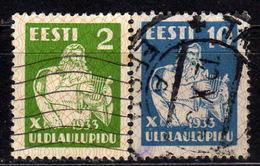 ESTLAND 1933 - MiNr: 99 +101  Used - Estland