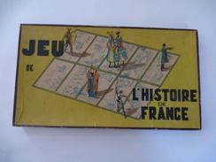 JEU DE L'HISTOIRE DE FRANCE (LOTO) Marque WITHO Création De Mme LUCIEN WILLEMETZ En 1940 - Voir Les Scans - Jeux De Société