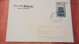 DDR-WU: Ausl-Brief Mit 30+5 Pf ABC-Mke DP Ausgabe Auf DDR-Urmarke Verw. Im Sondertarif Nach Der Schweiz 31.1.91 Knr 3353 - Cartas