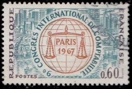 France 1967. ~ YT 1529 - 9° Congrès Comptablilité. Paris - Oblitérés