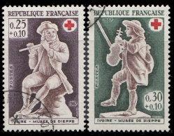 France 1967. ~ YT 1540 à 1441 - Série Croix-Rouge. - Oblitérés