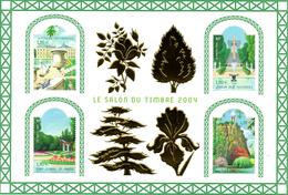 France.bloc No 71 Salon Du Timbre 2004. Jardins De France.n**. - Blocs & Feuillets