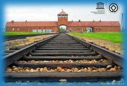 T67-058 ] Auschwitz Birkenau , German Nazi Concentration And Extermination Camp  Poland UNESCO,China Pre-paid Card - UNESCO