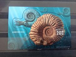 Zwitserland / Suisse - Sheet Fossielen 2015 Very Rare! - Zwitserland