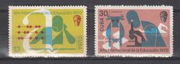Cuba 1970,2V,set,education,onderwijs,bildung,éducation,educacion,MNH/Postfris(A3049) - Kindertijd & Jeugd