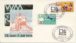 FDC WK Voetbal / WC Football 1974 - Coppa Del Mondo