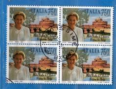 Italia ° - Anno 1997 - Uni. 2319 - Paola Ruffo Di Calabria  - Quartina .   Vedi Descrizione - 1946-.. République