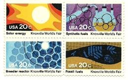 1982 - Stati Uniti 1435/38 Energie, - Sciences