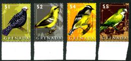 GRENADA 2008** - Uccelli / Birds - 4 Val. MNH Come Da Scansione - Non Classificati