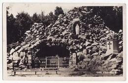 Grotte D'Hueberdeau, Quebec Canada C1940s-50s Vintage Real Photo Postcard RPPC  [6852] - Quebec