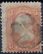 Stamp  Us 3c Washington Grill Scott #88,94? Lot126 - Gebraucht