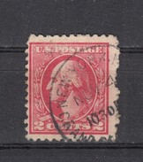 "USA 2 C Washington 1918 - ""New York - Grand ...."" Kleiner 1 Kreis Stempel - Used Stamps"