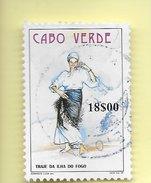 TIMBRES - STAMPS - CAP VERT / CAPE VERDE - 1998 - COSTUMES TYPIQUES - TIMBRE OBLITÉRÉ - Cape Verde