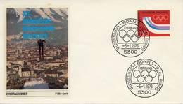 O.W.S. Innsbruck: FDC B.R. Duitsland - 1976