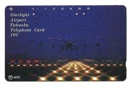 Giappone - Tessera Telefonica Da 105 Units T198 - NTT, - Avions