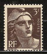 France Variété N° 715a ** Brun Noir - Frankreich