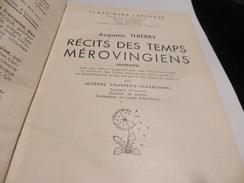 RECITS DES TEMPS MEROVINGIENS  /AUGUSTIN THIERRY - Geschichte