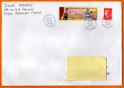 MAURY N° TVP 140 MARIANNE  Lettre Entière GRAND FORMAT N ° Z 975 - Marcophilie (Lettres)