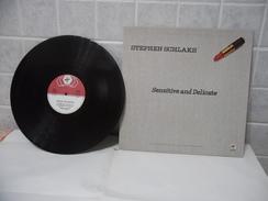 DISCO LP 33 GIRI SHEPHEN SCHLAKS SENSITIVE AND DELICATE 1979. - Discos De Vinilo