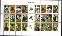 Surinam / Suriname 2006 Aap Apen Monkey Ape Affen Singe MNH Sheet - Apen