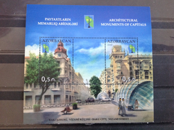 Azerbaijan - Postfris / MNH - Sheet Architectuur In Baku 2015 Very Rare! - Azerbeidzjan