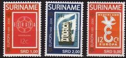 Suriname Surinam 2006 Yvertn° 1799-1801 *** MNH  Cote 18,50 Euro 50 Ans Europa 50 Jaar - Surinam
