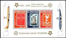 Suriname Surinam 2006 Yvertn° Bloc 103 *** MNH  Cote 18,50 Euro 50 Ans Europa 50 Jaar - Surinam