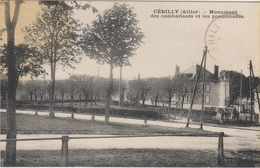 D03 - CERILLY - MONUMENT DES COMBATTANTS ET LES PROMENADES - Frankreich
